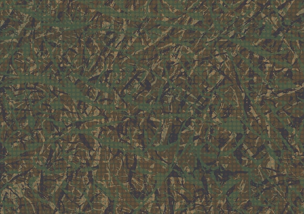 Abstract grunge camouflage background Premium Vector