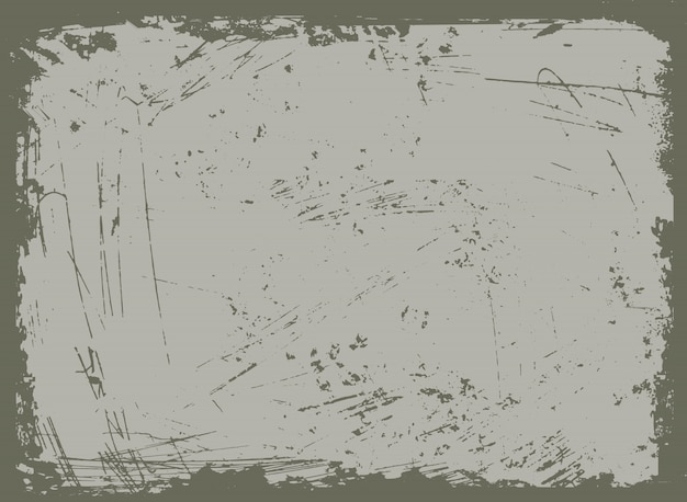 Abstract grunge framed background