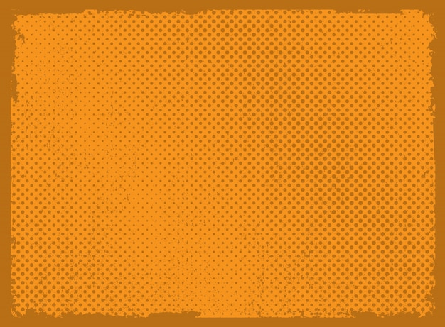 Abstract grunge halftone background
