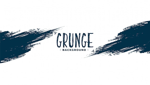 Abstract grunge ink stroke texture background