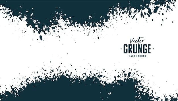 Abstract grunge splatter background design