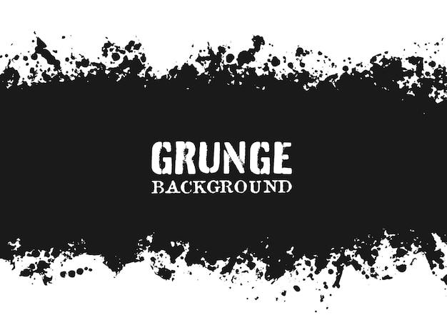 Abstract grunge splattered background