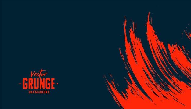 Struttura astratta del grunge in colore rosso