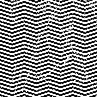 Abstract grunge zigzag pattern