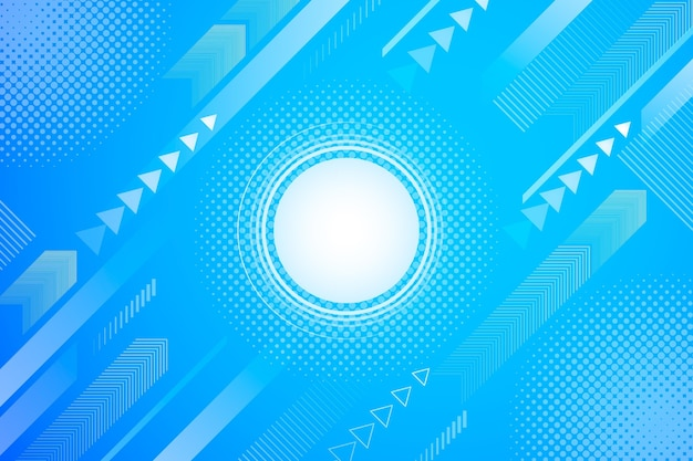 Abstract halftone background bright dot
