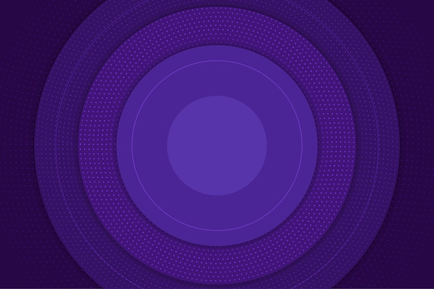 Abstract halftone background circular violet