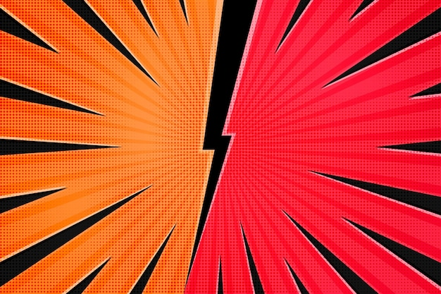 Abstract halftone background concept
