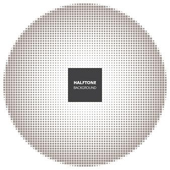 抽象的なハーフトーンの背景、デザイン要素。