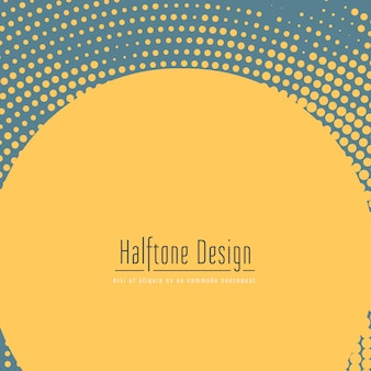 Abstract halftone background design