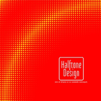 Abstract halftone design background vector