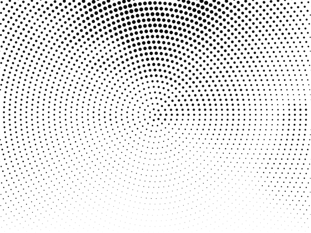 Abstract halftone design decorative background