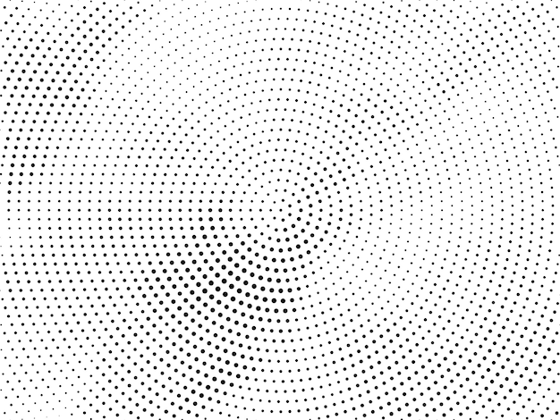 Abstract halftone design decorative