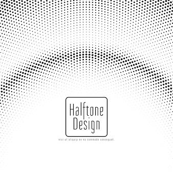 Abstract halftone design elegant background