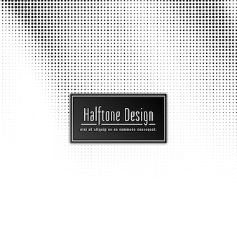 Abstract halftone design elegant background