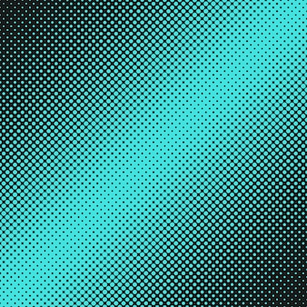 Abstract halftone dot pattern background from circles