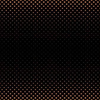 Abstract halftone dot pattern background - vector graphic from circles in varying sizes