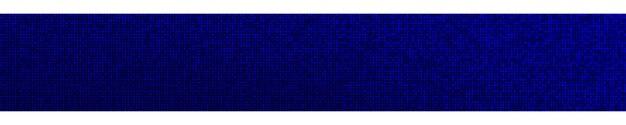Абстрактный полутоновый градиент горизонтальный баннер в случайных оттенках синего цвета