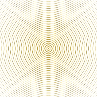 Abstract halftone monochrome round circle pattern background