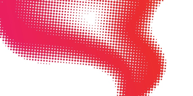 Abstract halftone red gradient background ecology concept for your graphic design,
