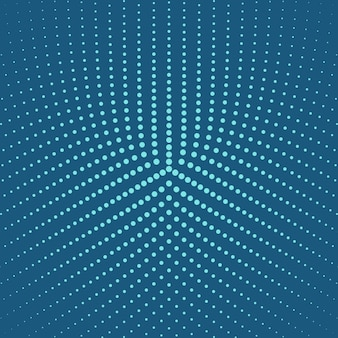 Abstract halftone round circle background design
