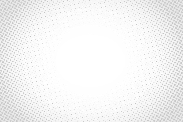 Abstract halftone white background cartoon style or sunlight