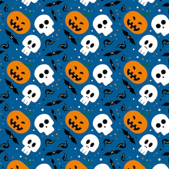 Абстрактная предпосылка дизайна картины хеллоуина. векторная иллюстрация.