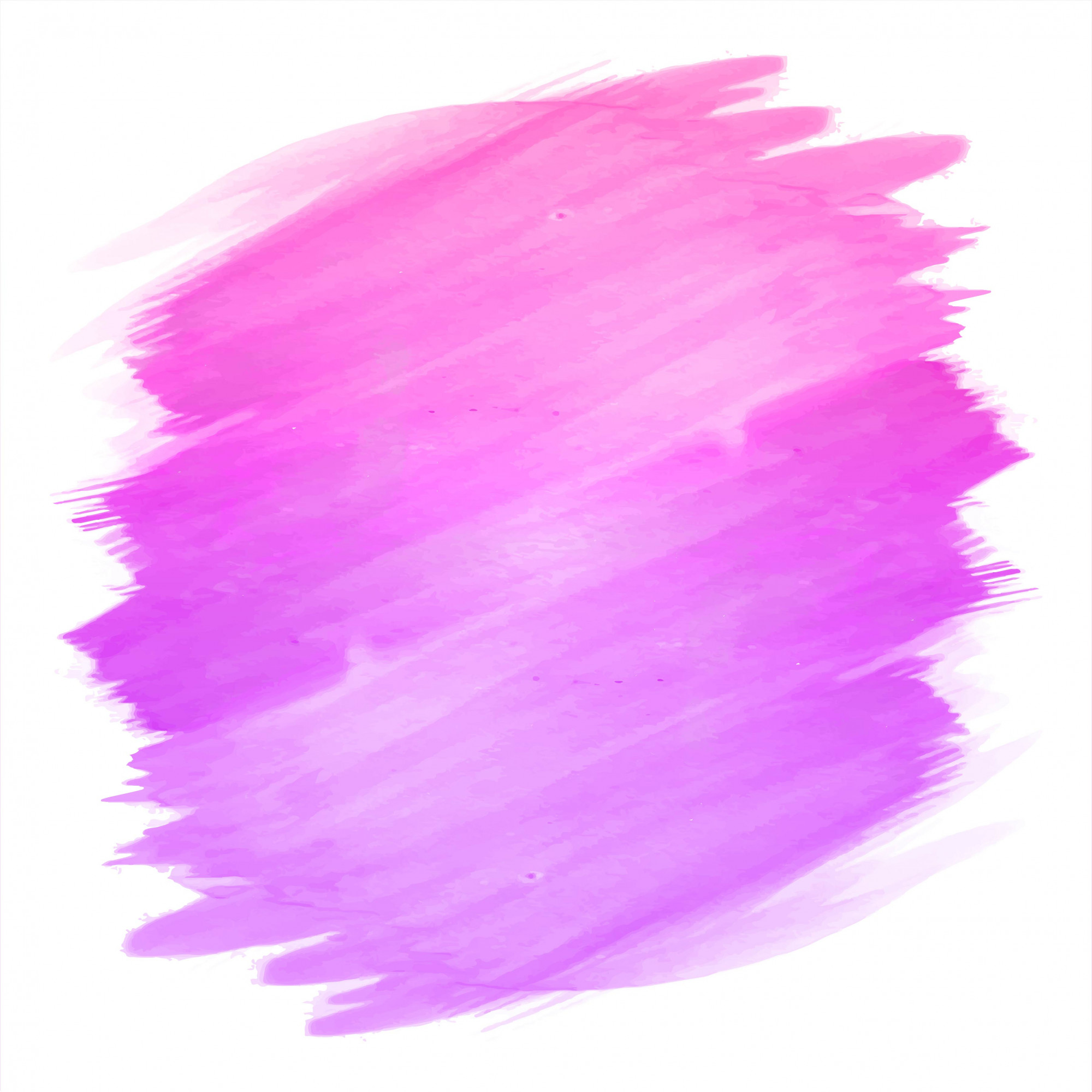 Abstract hand draw stroke pink watercolor design