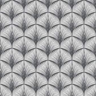 抽象的な手描きのパターン