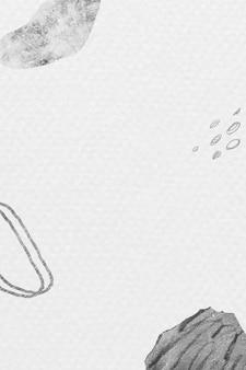 抽象的な手描きのストロークとテクスチャの背景