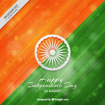 Abstract hand painted background india independence day