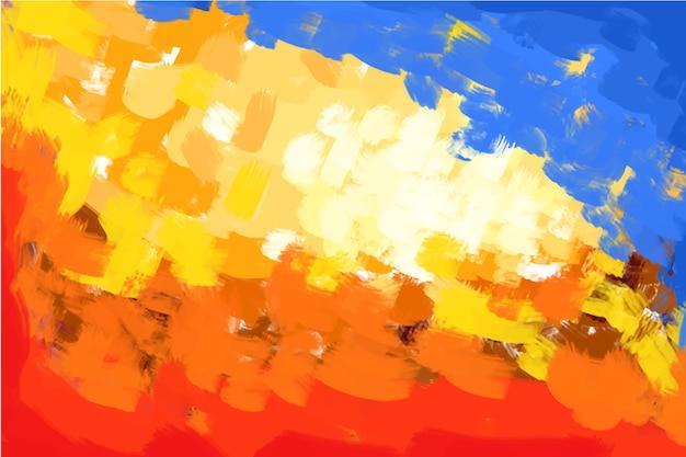 Абстрактный ручной росписью фон