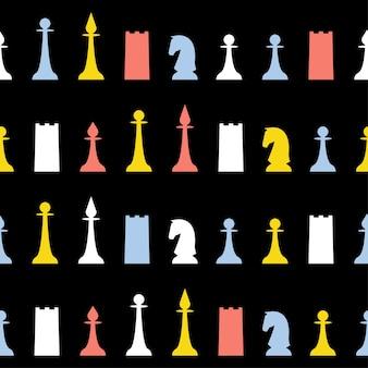 Абстрактный фон ручной шахматы бесшовные модели. детские обои ручной работы для дизайнерских открыток, детских подгузников, подгузников, альбомов, праздничной упаковочной бумаги, текстиля, принтов на сумках, футболок и т. д.