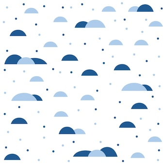 Abstract handmade seamless pattern background. childish handcrafted wallpaper for design card, wallpaper, album, scrapbook, holiday wrapping paper, textile fabric, bag print, t shirt etc.