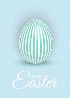 Abstract happy easter template holiday  illustration
