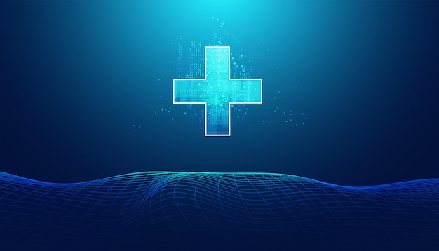 抽象的な健康科学は健康とデジタル技術で構成されています