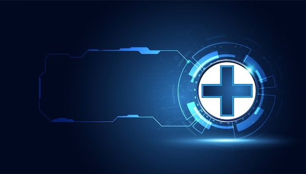 Abstract health sign background