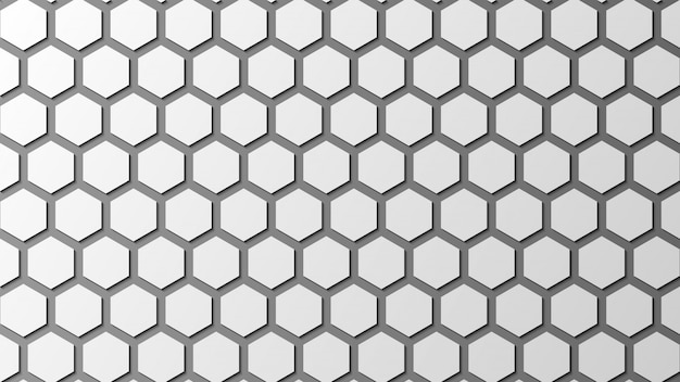 Abstract hexagon background texture