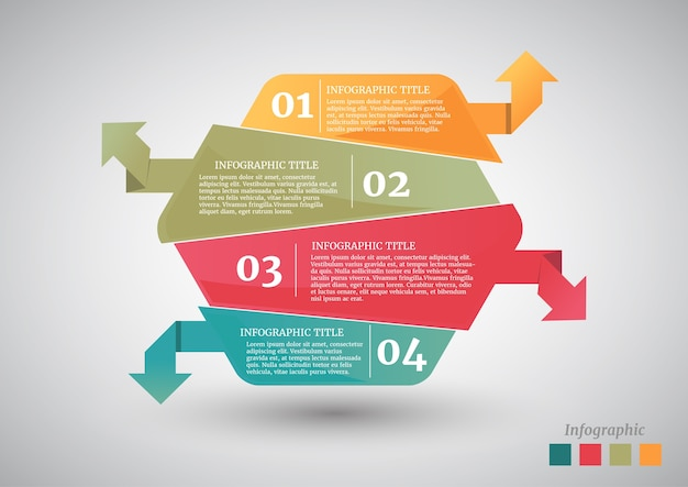 Abstract hexagon business options or step infographics template