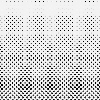Abstract hexagon halftone pattern