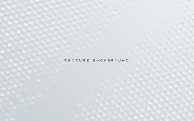 Абстрактный шестиугольник текстуры белый фон