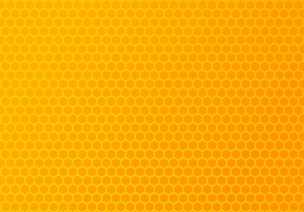 カラフルな抽象的な六角形パターン