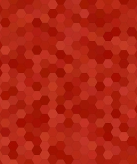 Abstract hexagonal tile mosaic background