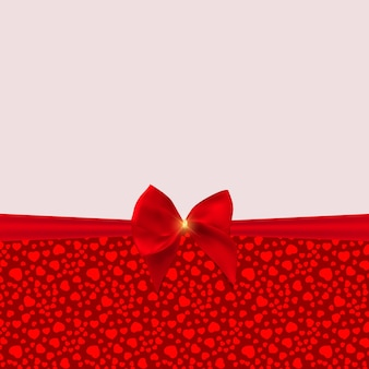 Abstract holiday background, invitation with love hearts template background. can be used as ard for valentines day party.