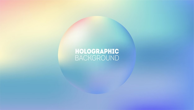 Abstract holographic background. rainbow fairytale neon hologram gradient