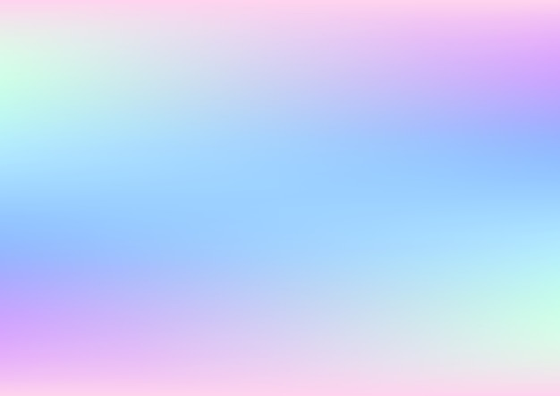 Abstract holographic background with pastel colors