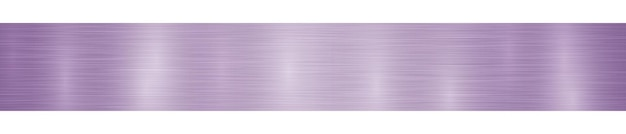 Абстрактный горизонтальный металлический баннер или фон с бликами в светло-фиолетовых тонах