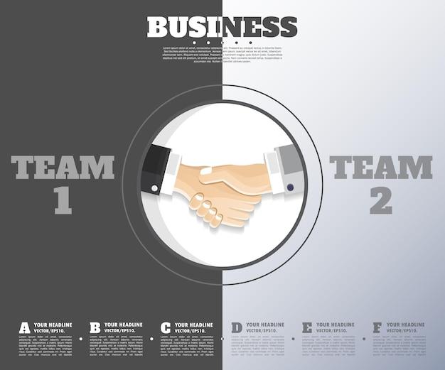 F生産スタートアップ会社のあなたのビジネスバナーの抽象的なアイデアの背景概念