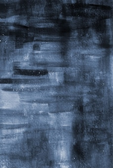 Abstract indigo blue watercolor texture background