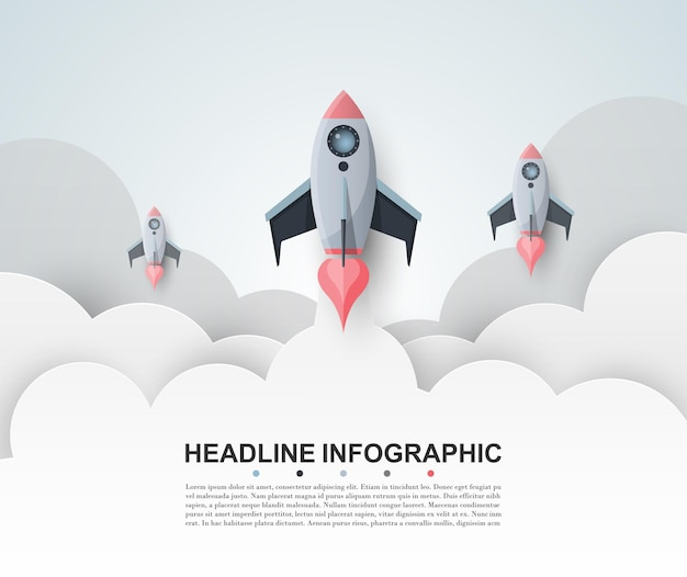 Abstract infographics number options template vector illustration can be used for workflow layout
