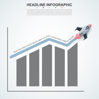 추상 infographics 번호 옵션 템플릿입니다.